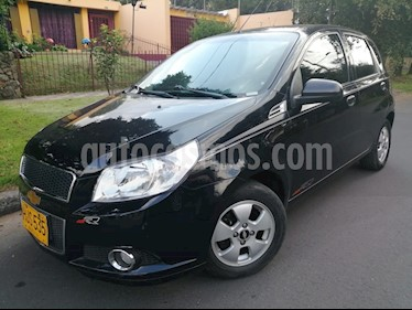 Foto venta Carro Usado Chevrolet Aveo Emotion 5P GT 1.6L Full Aut (2014) color Negro precio $25.500.000