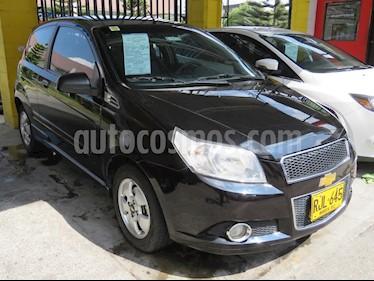 Foto venta Carro usado Chevrolet Aveo Emotion 5P GTi (2011) color Negro precio $20.900.000