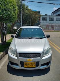 Chevrolet Aveo Emotion 4P 1.6L Ac usado (2010) color Plata Escuna precio $17.350.000