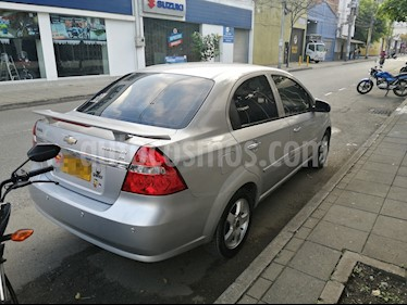 Chevrolet Aveo Emotion 4P 1.6L Full usado (2009) color Gris precio $19.000.000