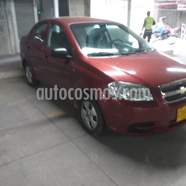 Chevrolet Aveo Emotion 5P 1.6L Ac usado (2008) color Rojo precio $16.000.000