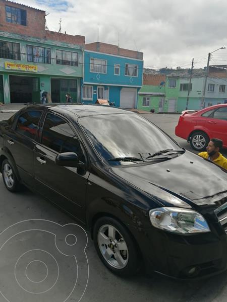 Chevrolet Aveo Emotion 4P 1.6L Full Aut usado (2008) color Negro precio $18.000.000