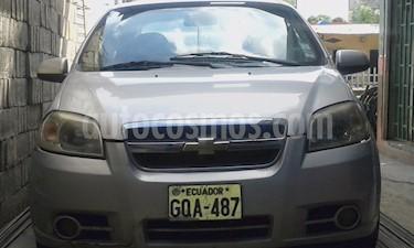 Chevrolet Aveo Emotion 1.6L GLS usado (2008) color Plata precio u$s5.600