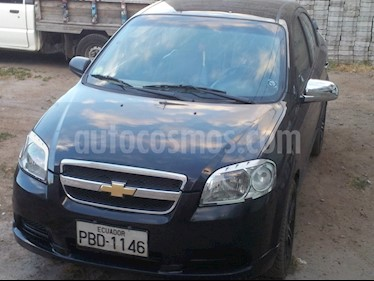 Chevrolet Aveo Emotion 1.6L Advance  usado (2008) color Negro precio u$s5.400