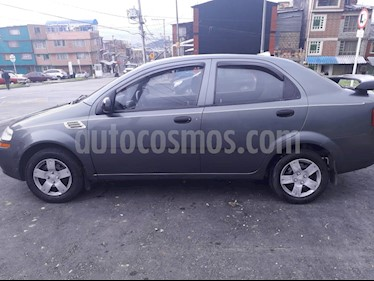 Chevrolet Aveo Family 1.5L usado (2010) color Gris precio $15.500.000
