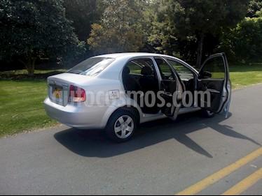 Chevrolet Aveo Family 1.5L usado (2012) color Plata precio $19.600.000
