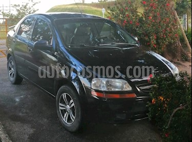 Chevrolet Aveo Family 1.5L usado (2011) color Negro precio $18.500.000