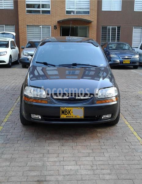 Chevrolet Aveo Family 1.5L Ac usado (2012) color Gris precio $20.000.000