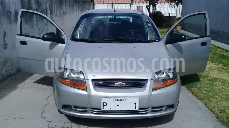 Chevrolet Aveo Family 1.5L Std  usado (2008) color Plata precio u$s8.499