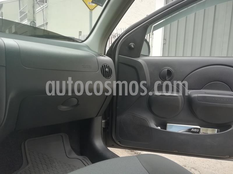 Chevrolet Aveo Family 1.5L Ac usado (2015) color Gris precio u$s10.499