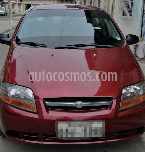 Chevrolet Aveo Family 1.5L Ac usado (2014) color Rojo Vino precio u$s9.000