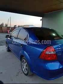 Chevrolet Aveo Sedan LS 1.4  usado (2015) color Azul Metalizado precio $4.900.000