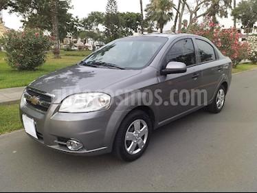 Chevrolet Aveo Sedan 1.4L usado (2011) color Gris Platino precio u$s7,800