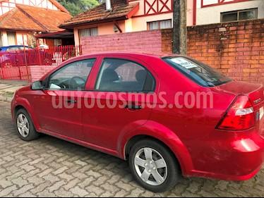 Chevrolet Aveo 1.4L LS  usado (2011) color Rojo Burdeos precio $3.200.000