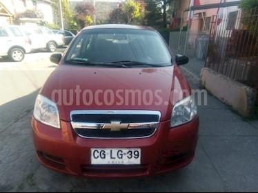 Chevrolet Aveo 1.4L  usado (2010) color Rojo precio $3.900.000