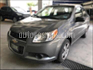 Foto Chevrolet Aveo 1.6 MT B usado (2012) color Gris Oscuro precio $85,000