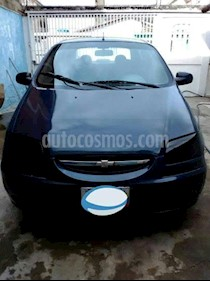 Foto venta carro usado Chevrolet Aveo 1.6 (2005) color Azul precio BoF1.800