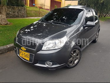 Foto venta Carro Usado Chevrolet Aveo 1600 3p Edition Limited (2011) color Gris precio $22.400.000