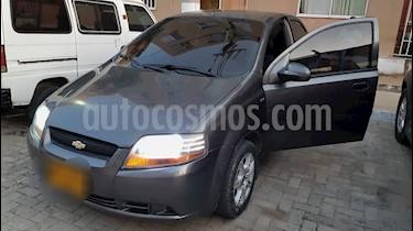 Foto venta Carro usado Chevrolet Aveo 1.6L Ac (2011) color Gris Galapagos precio $17.000.000