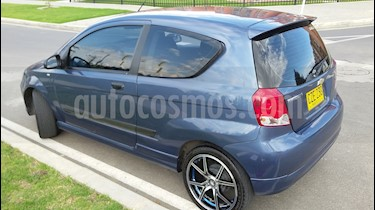 Foto venta Carro Usado Chevrolet Aveo 1.6L Ac (2008) color Azul precio $15.200.000