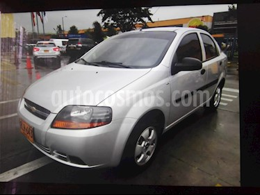 Foto venta Carro usado Chevrolet Aveo 1.6L Ac (2012) color Plata precio $22.500.000