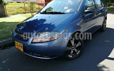 Foto venta Carro usado Chevrolet Aveo 1.6L Ac (2008) color Azul precio $16.900.000