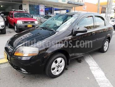 Foto venta Carro usado Chevrolet Aveo 1.6L Ac (2012) color Negro precio $19.400.000