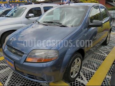 Foto venta Carro usado Chevrolet Aveo 1.6L Ac (2010) color Azul precio $19.900.000