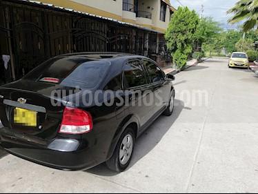 Foto venta Carro Usado Chevrolet Aveo 1.6L Ac (2012) color Negro precio $18.500.000