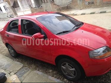 Chevrolet Aveo 1.6L usado (2008) color Rojo precio $15.800.000