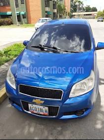 Foto venta carro usado Chevrolet Aveo 3P 1.6 AT (2012) color Azul precio BoF4.450