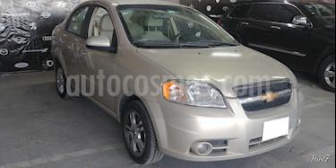 Foto venta Auto usado Chevrolet Aveo 4p L4/1.6 Aut (2011) color Beige precio $97,000
