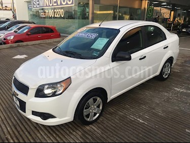 Foto venta Auto usado Chevrolet Aveo 4p LS L4/1.6 Aut (2016) color Blanco precio $125,000