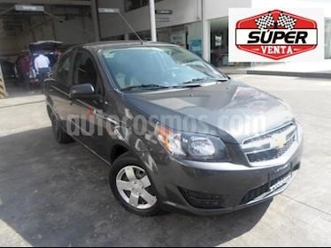Foto venta Auto usado Chevrolet Aveo 4p LS L4/1.6 Aut (2018) color Gris precio $145,000