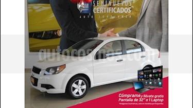 Chevrolet Aveo 4p LS L4/1.6 Aut usado (2016) color Blanco precio $135,900