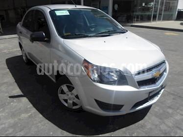 Foto Chevrolet Aveo 4p LS L4/1.6 Aut usado (2018) color Plata precio $144,000