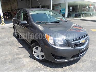 Foto venta Auto usado Chevrolet Aveo 4p LS L4/1.6 Aut (2017) color Gris precio $146,000