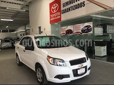 Foto venta Auto usado Chevrolet Aveo 4p LS L4/1.6 Aut (2016) color Blanco precio $129,000