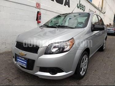 Foto venta Auto usado Chevrolet Aveo 4p LS L4/1.6 Aut (2017) color Plata precio $145,000