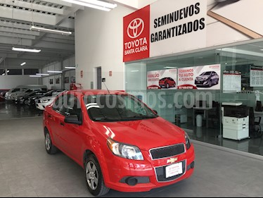 Foto venta Auto usado Chevrolet Aveo 4p LS L4/1.6 Aut (2014) color Rojo precio $106,000