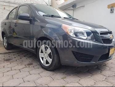 Foto venta Auto usado Chevrolet Aveo 4p LS L4/1.6 Aut (2017) color Gris precio $145,000