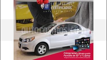 Foto venta Auto usado Chevrolet Aveo 4p LS L4/1.6 Aut (2017) color Plata precio $145,900