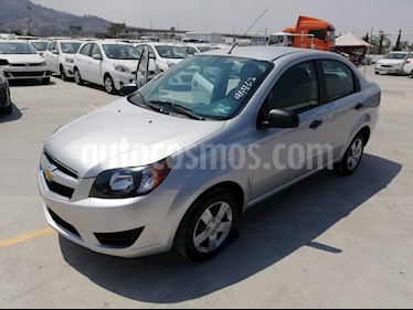 Foto venta Auto usado Chevrolet Aveo 4p LS L4/1.6 Aut (2017) color Plata precio $159,000