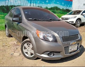 Foto venta Auto Seminuevo Chevrolet Aveo 4p LS L4/1.6 Man s/Aire (2012) color Gris precio $98,500