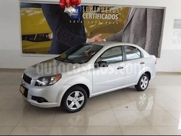 Foto venta Auto usado Chevrolet Aveo 4p LS L4/1.6 Man (2016) color Plata precio $128,900