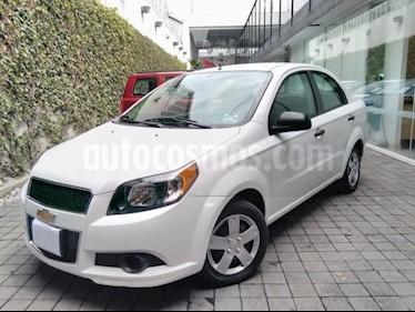 Foto Chevrolet Aveo 4p LS L4/1.6 Man usado (2017) color Blanco precio $130,000