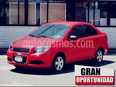 Foto venta Auto usado Chevrolet Aveo 4p LS L4/1.6 Man (2017) color Rojo precio $145,000