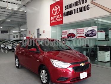 Foto Chevrolet Aveo 4p LT L4/1.5 Man usado (2019) color Rojo precio $185,000