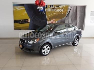Foto venta Auto usado Chevrolet Aveo 4p LT L4/1.6 Aut (2013) color Gris precio $106,900
