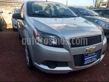 Foto venta Auto usado Chevrolet Aveo 4p LT L4/1.6 Aut (2016) color Plata precio $145,000